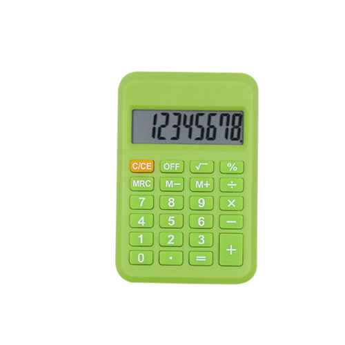 HY-2100 Pocket Calculator with Memory Function