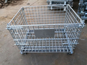 Storage Cage with Wheels
