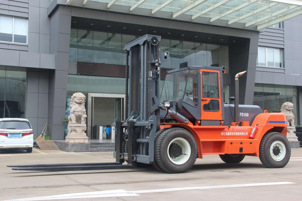 Made in China Goodsense forklift  16ton diesel forklift for China Eastern Airline