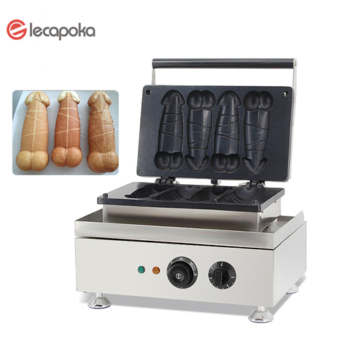 fashion design custom electric long waffle maker hot-dog gaz stick commercial hot dog waffle maker penis waffle maker