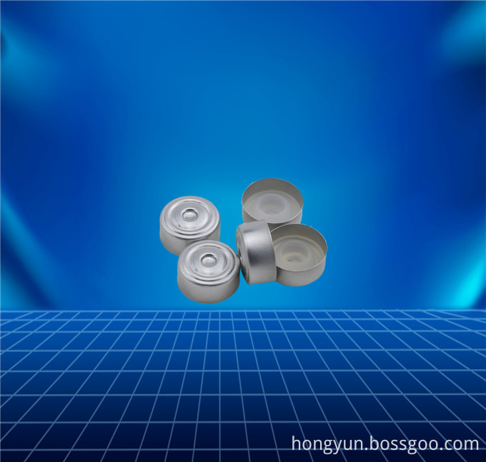 golden aluminium cap for oral liquids