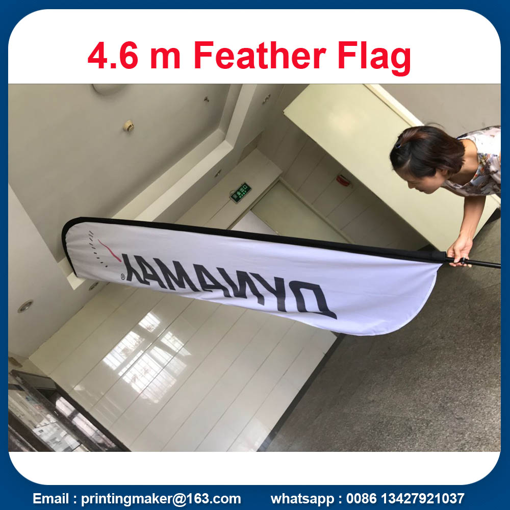 Custom Feather Flags For Outdoor Advertising
