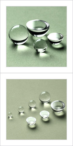 Hemisphere Ball Lens and Super Hemispherical Ball Lenses with 0.0003mm roundness For optics system