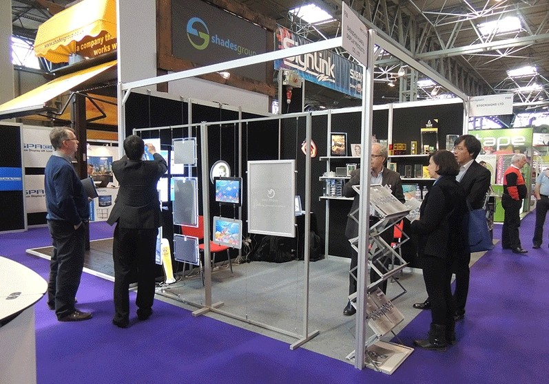 Sign show UK in BIRMINHAM