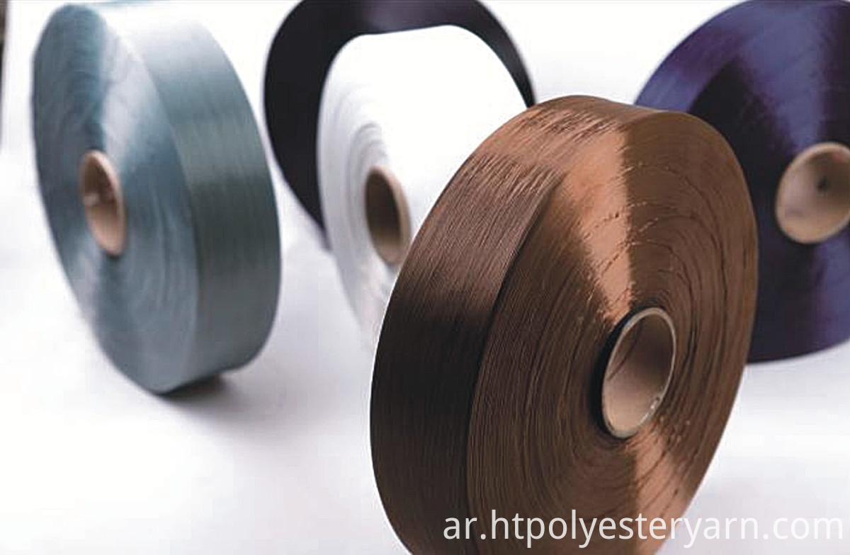 polyester high tenacity color yarn