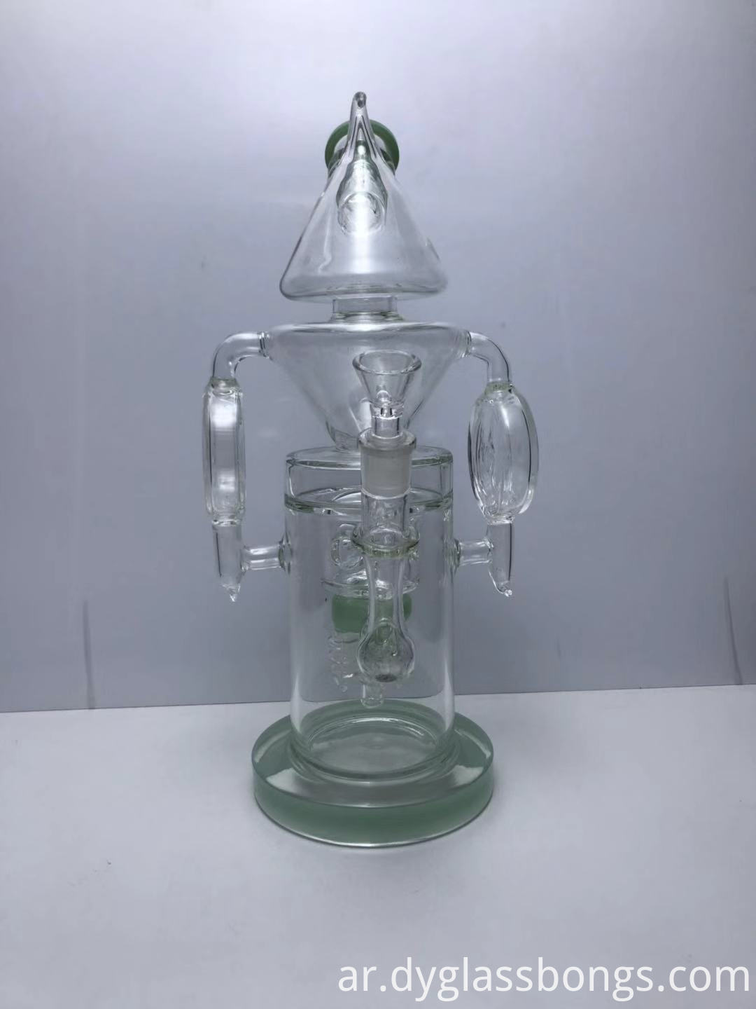 5-Arm Electric Sprinkler Perc Recycler Bongs