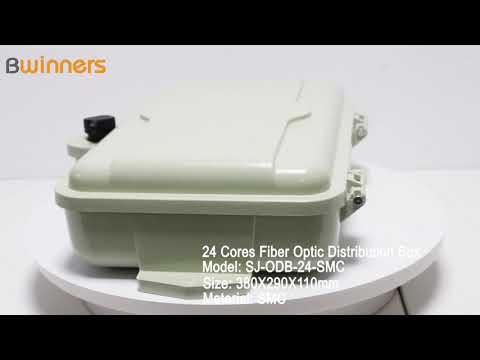 SJ-ODB-24-SMC 24 Cores Fiber Optic Distribution Box