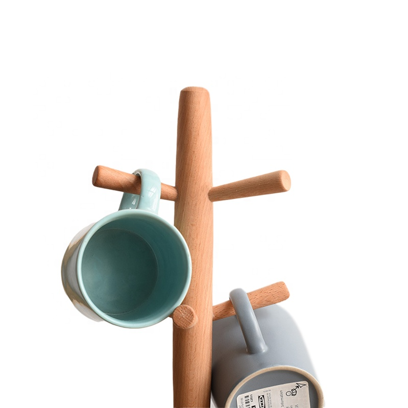 Wooden Cup Holder Stand