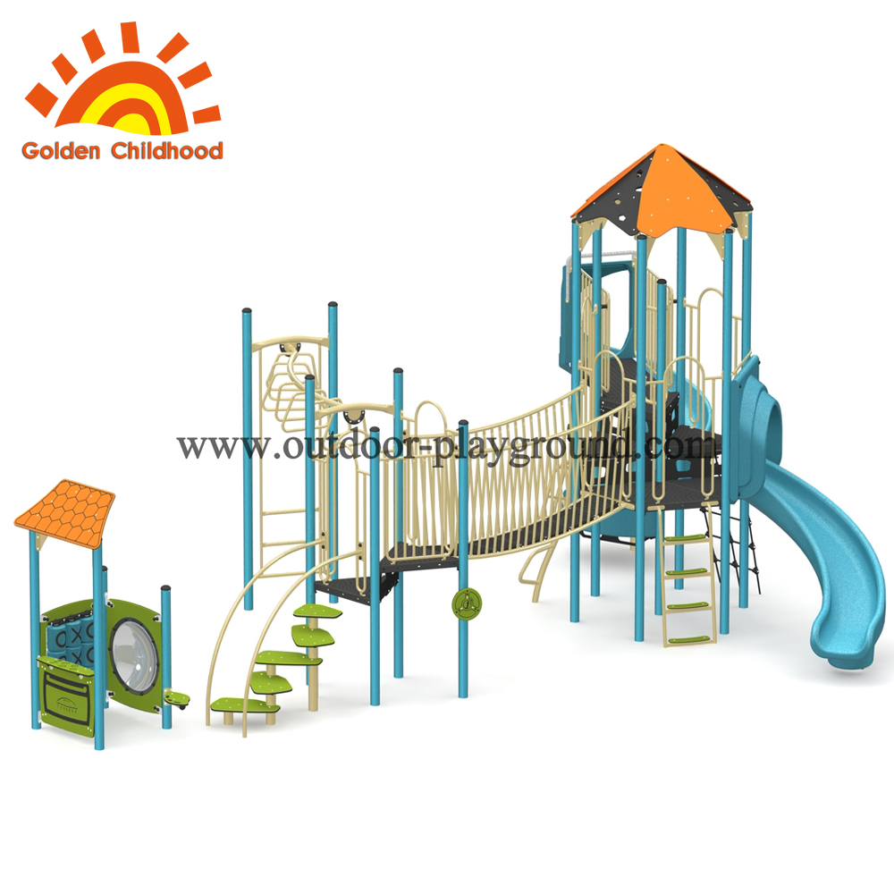 Multifunction Children Play Rope Structure Playground Outdoor