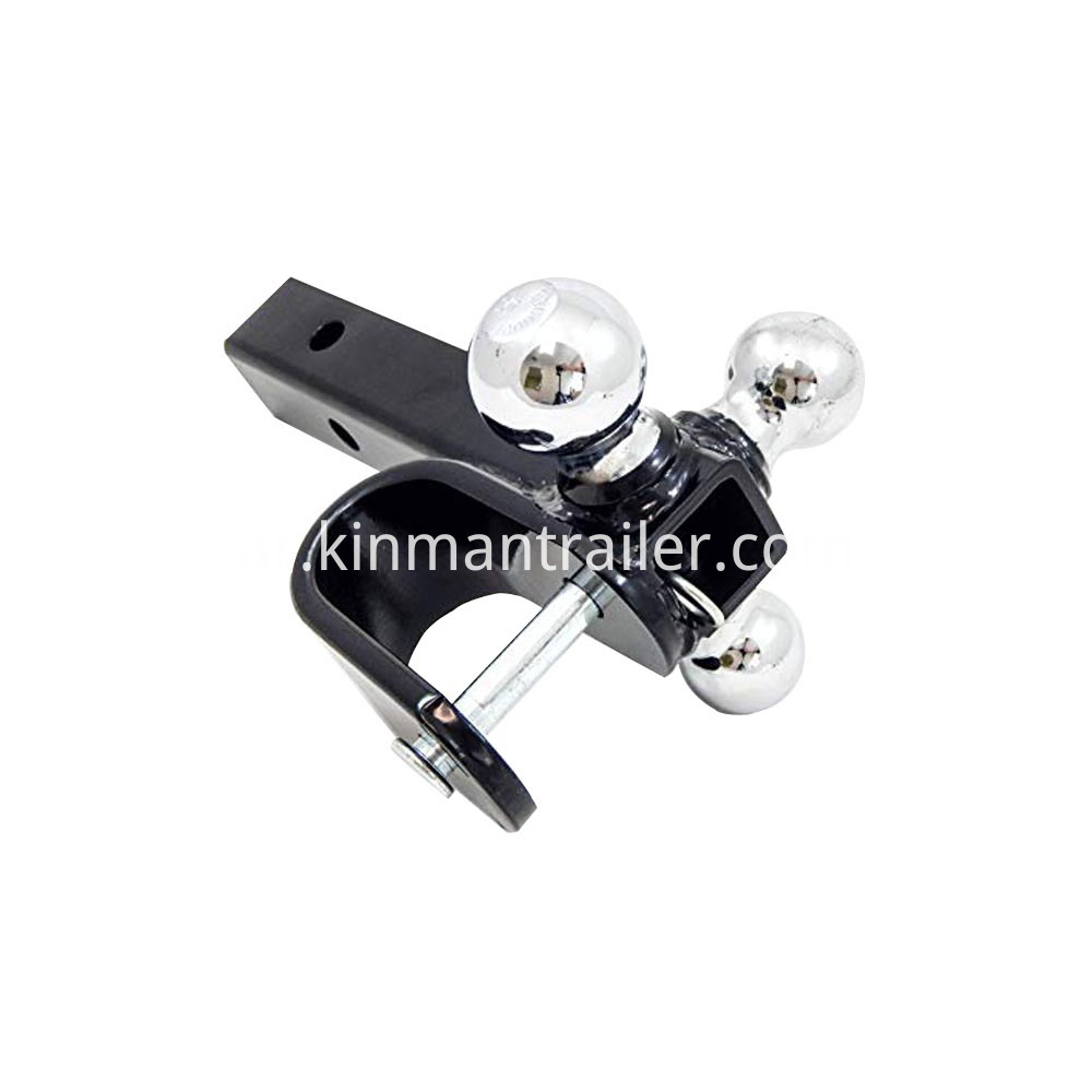 tri-ball trailer hitch ball mount