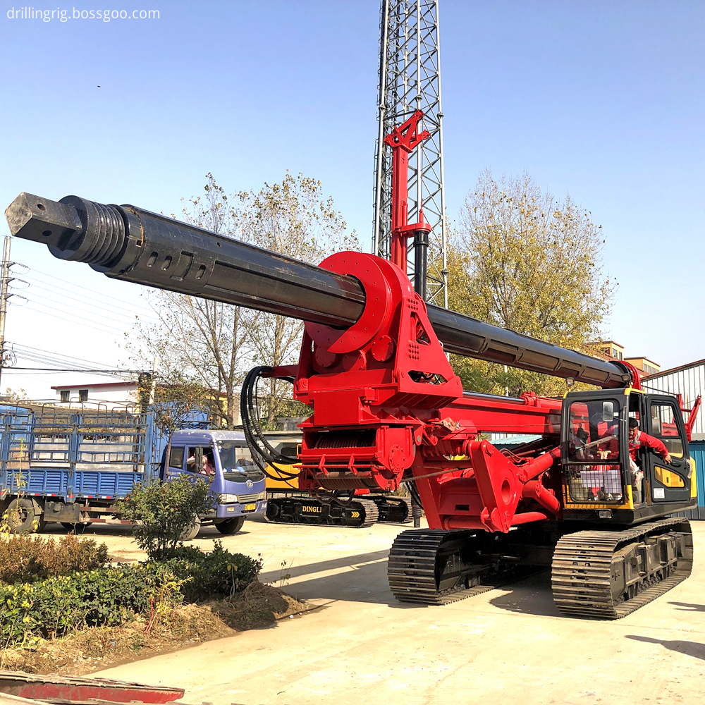 Hydraulic Piling Machine