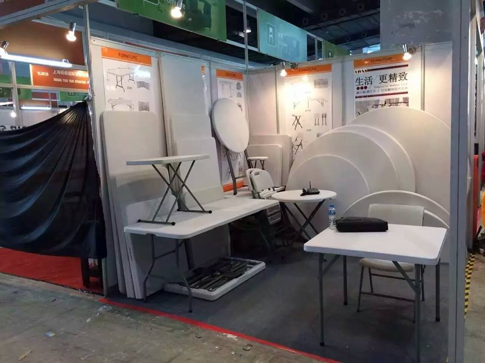 Our Folding furniture CANTON FAIR IN GUANGZHOU (BRANCH OFFICE)