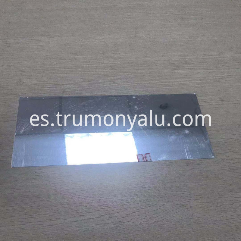 Aluminum mirror sheet