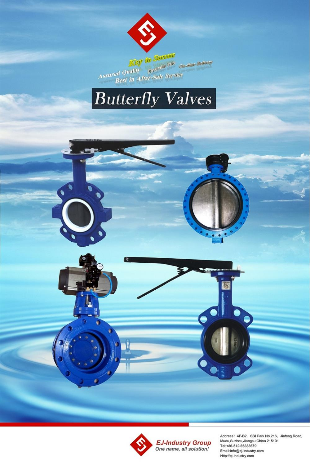 butterfly valve products