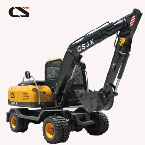 Changsong CS85 wheel excavator