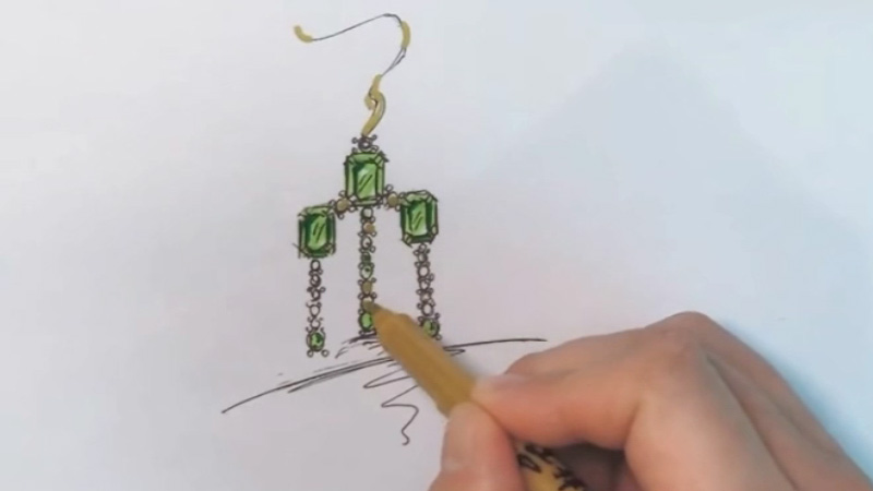 How to Draw Jewelry