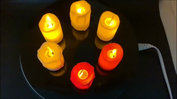 Fornitore di candele a LED.mp4