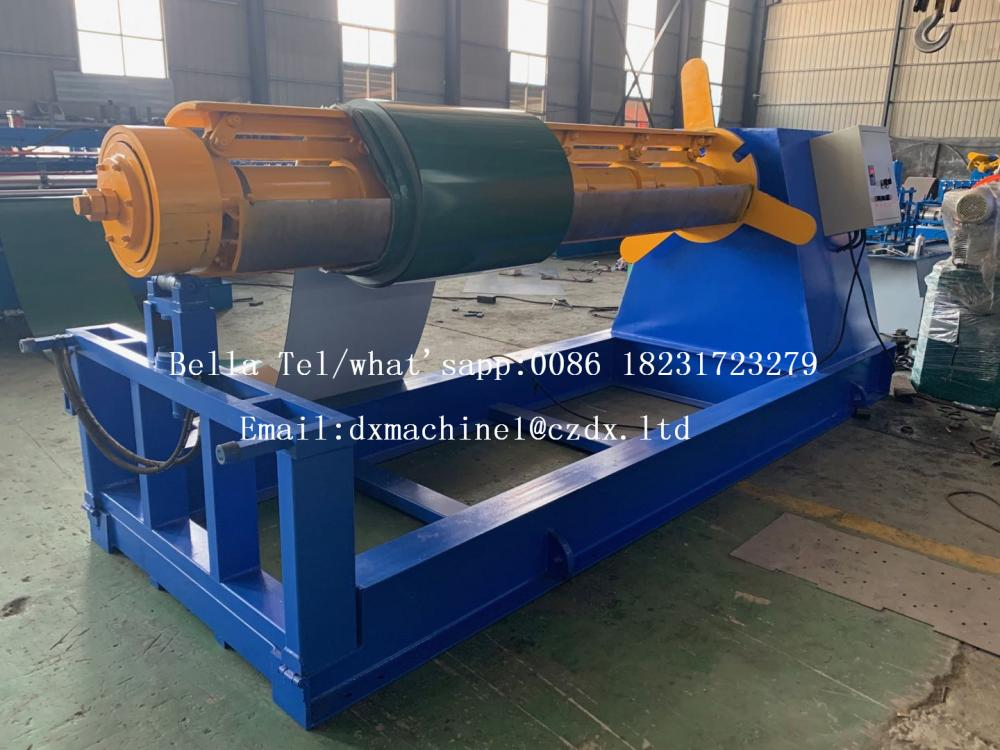 Automatic Hydraulic Decoiler With Coil Car