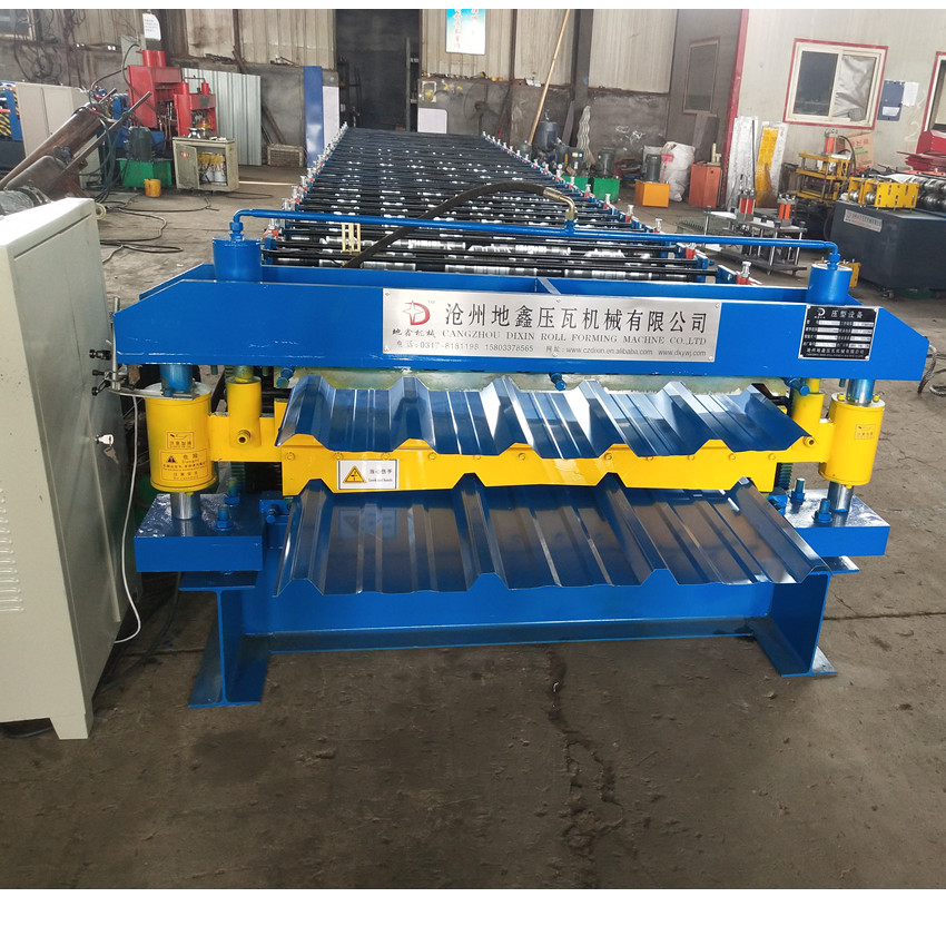 double layer metal roofing forming machine