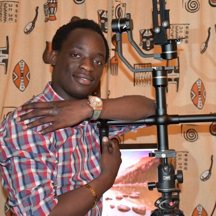 Wewow MD1 3 axis DSLR gimbal customer feedback from Kenya