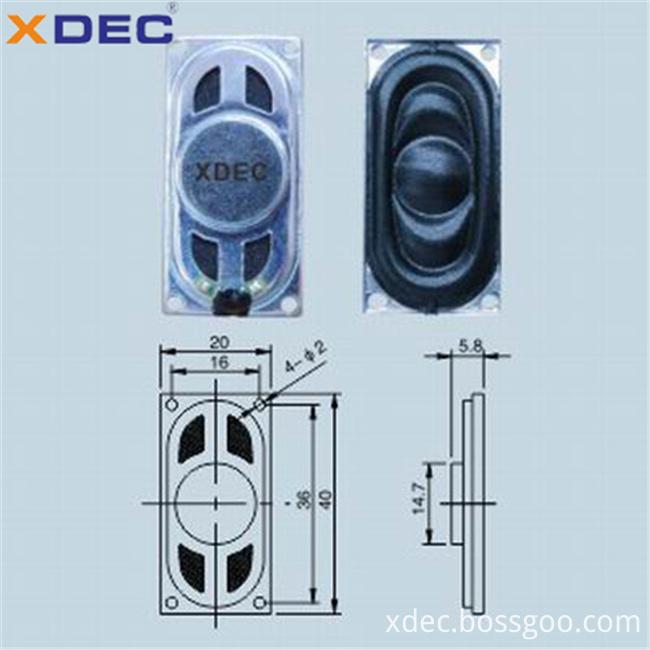 2040 mini speaker driver 8ohm 1w speaker