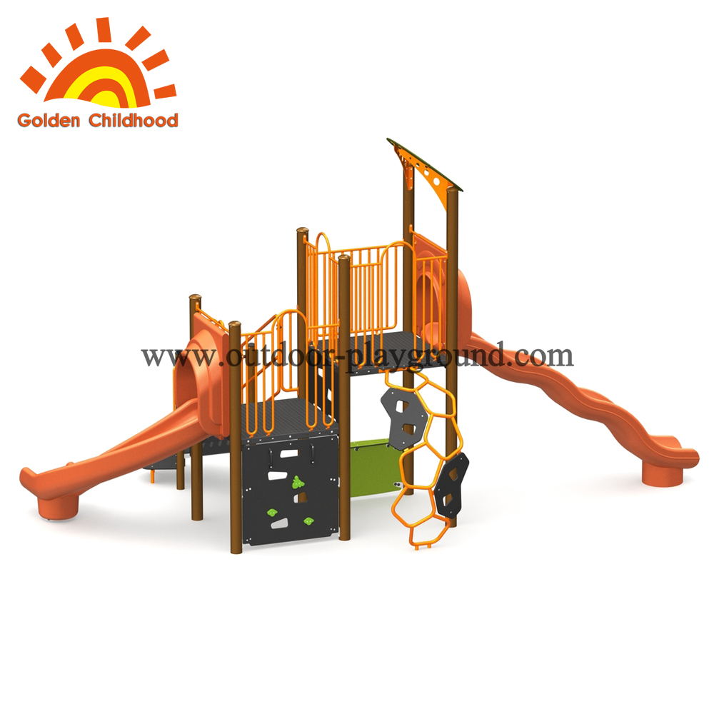Toddler outdoor Colorful Rope Climbing
