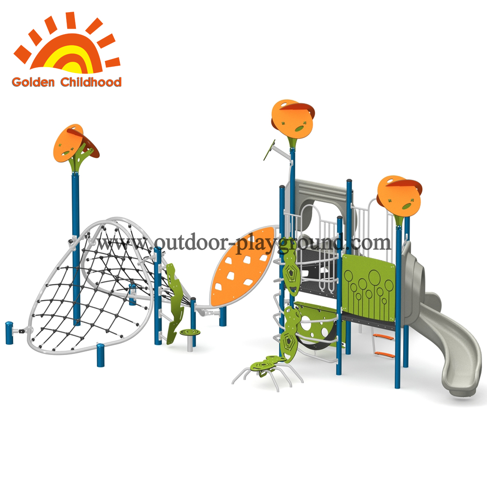 outdoor playground climb for preschool