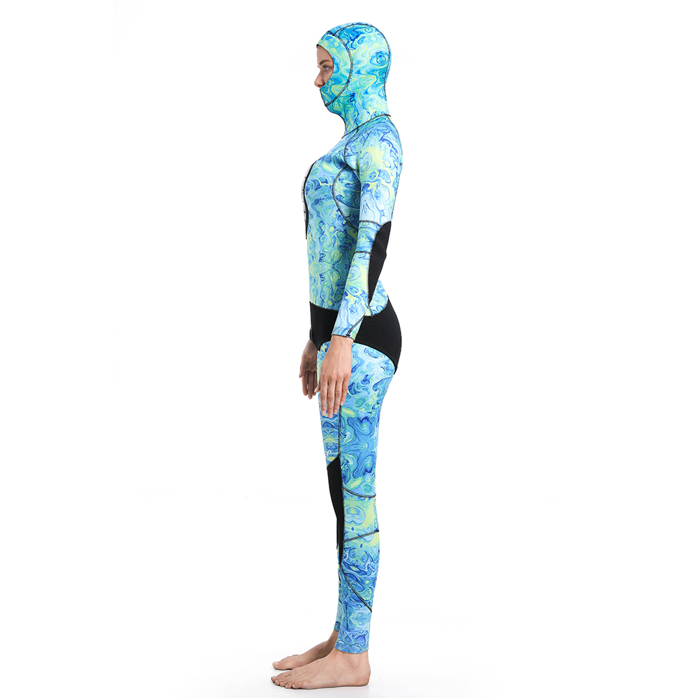 Dw015 Seaskin Women Two Pieces Wetsuit 34
