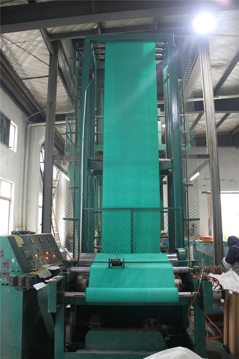 Coating Machine For Fiberglass Fabric