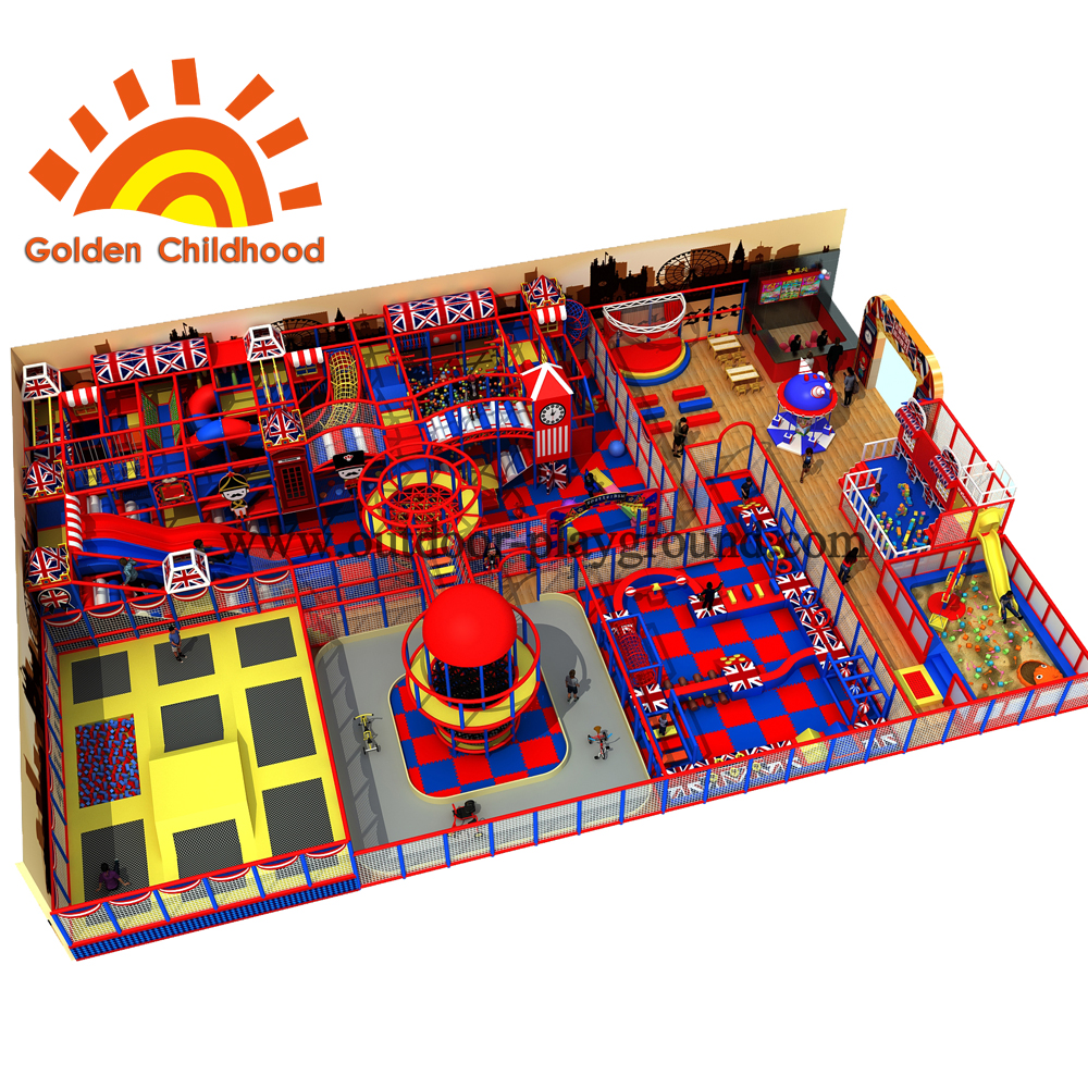 Britain Style Indoor Playground Equipment For Sale
