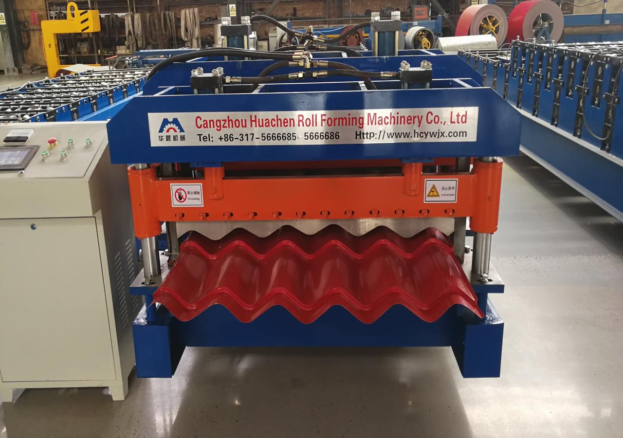 Argentina Glazed Tile Roll Forming Machine