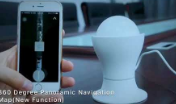 ip camera new 3D navigation map 1080P HD home monitor