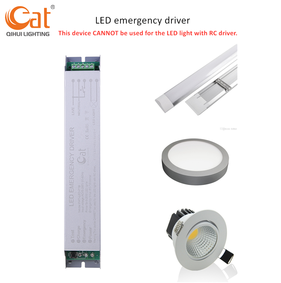 led tube emergency battery pack