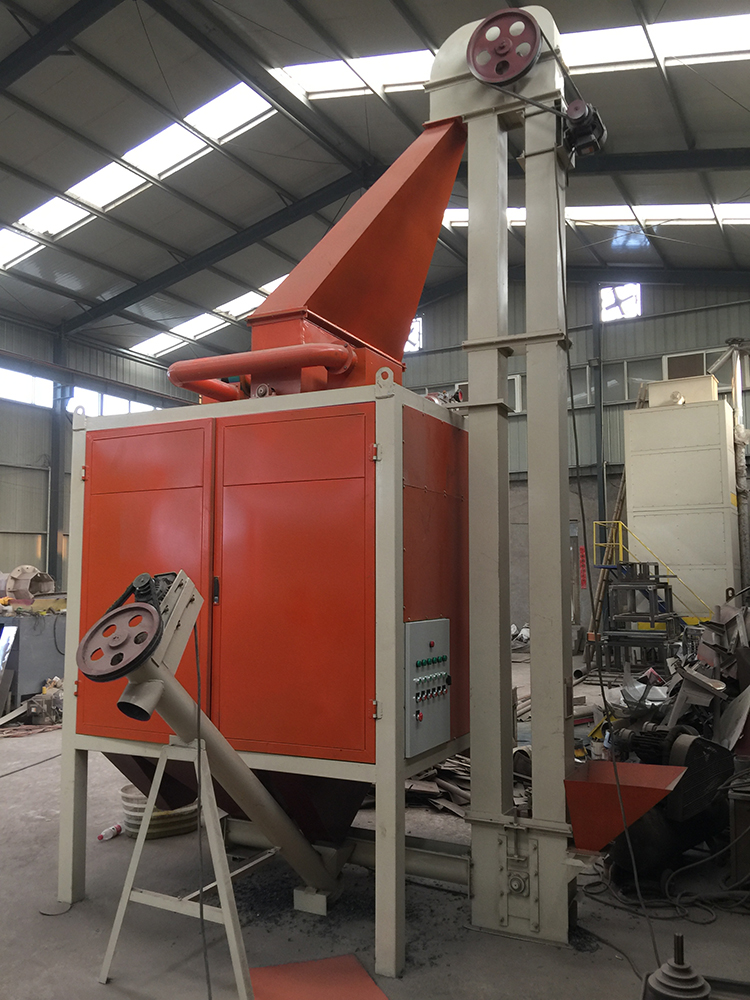 Plastic PP PC and Mixed Rubber Silicone Sorting Separator Recycling Machine