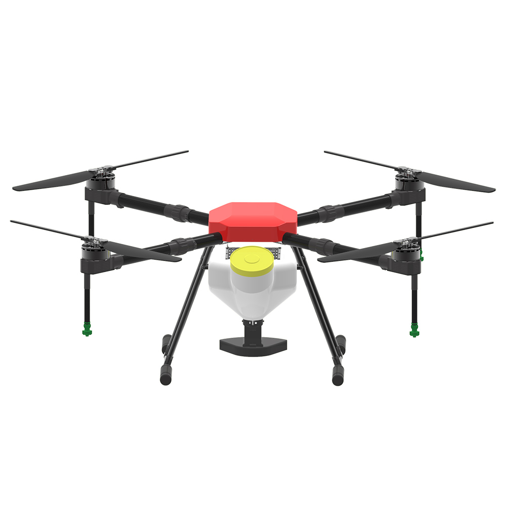 10L agriculture spray drone JMRRC X1400 spreading drone