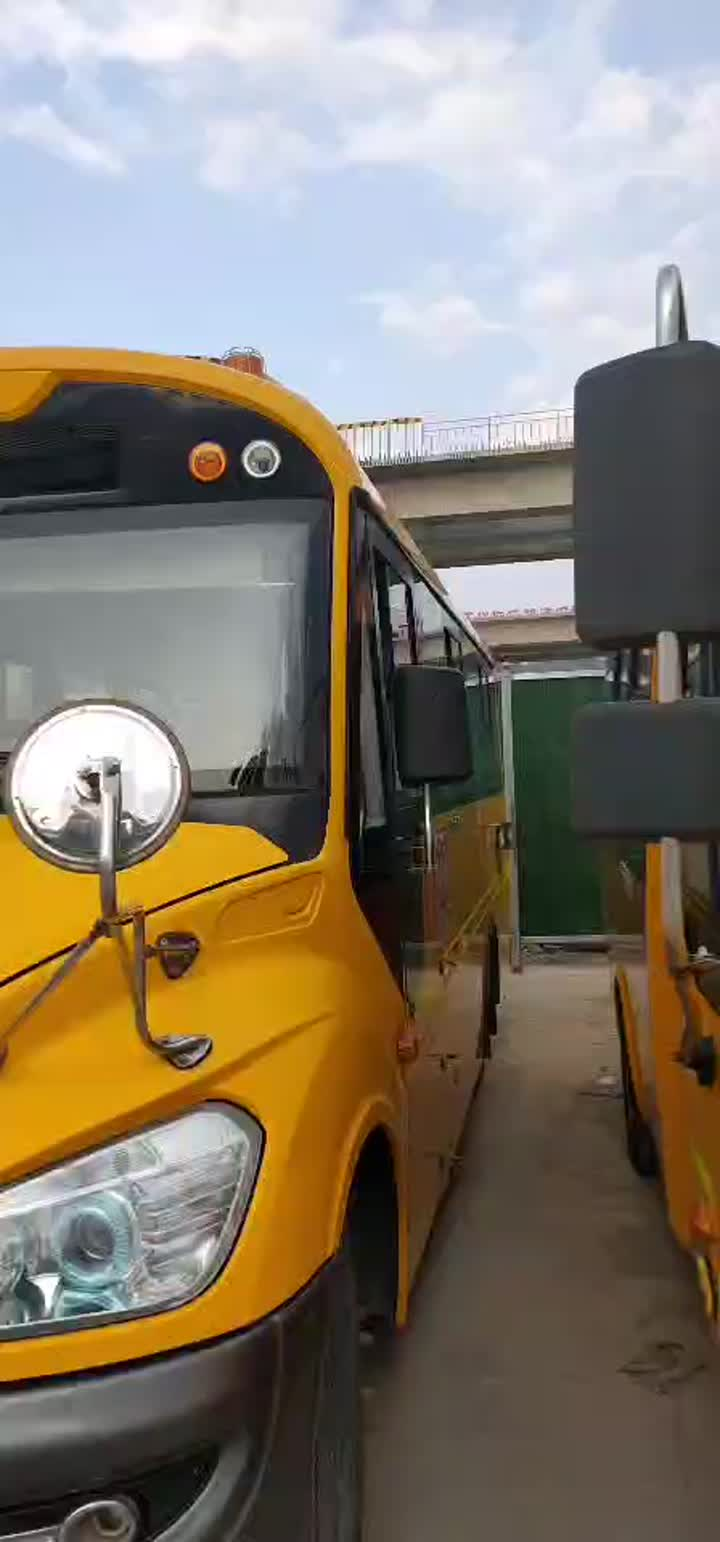 Video del autobús escolar de Yutong 37 asientos