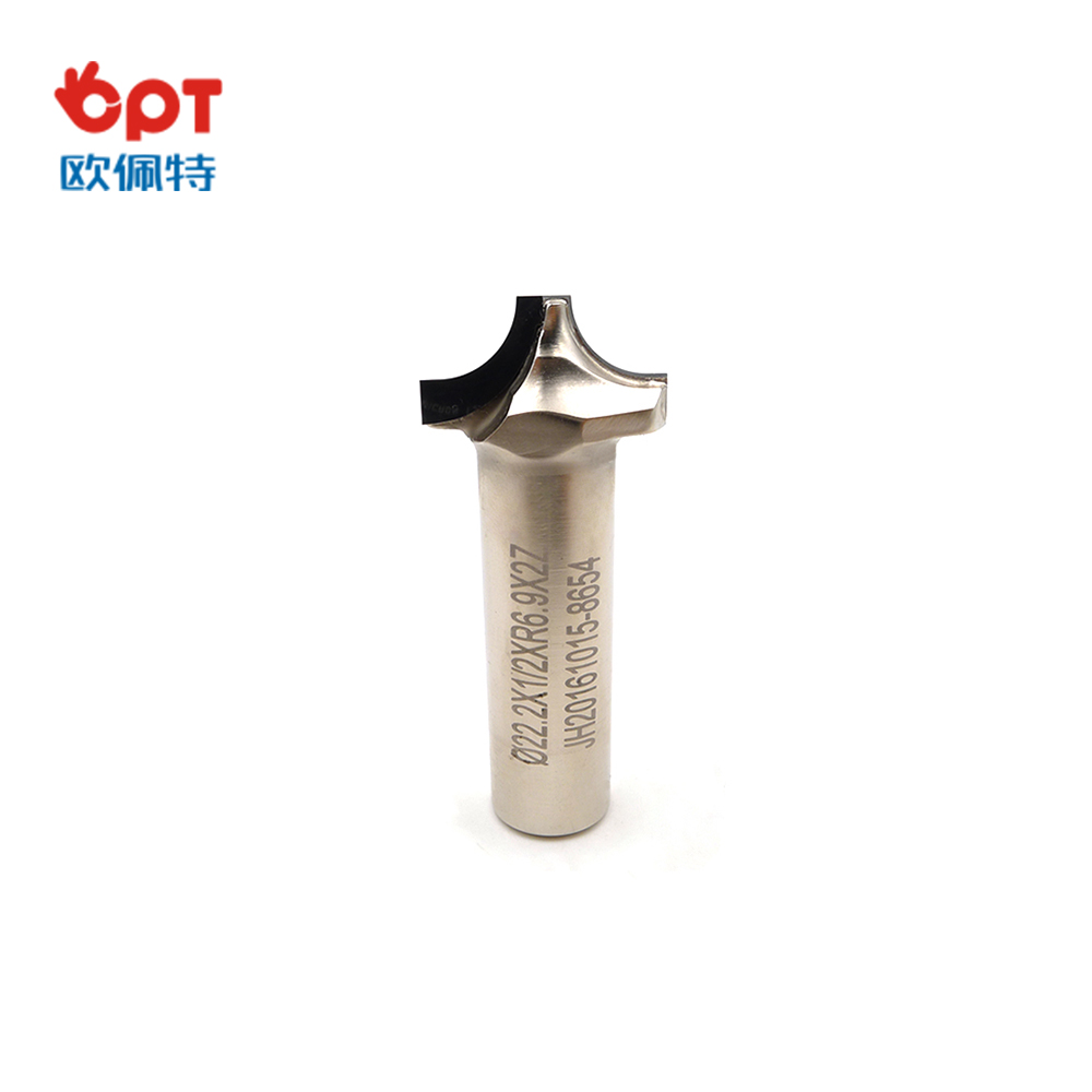 PCD diamond forming router bit