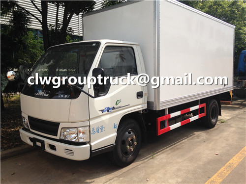 CLW GROUP TRUCK 10units of JMC Van Truck Delivery to Abroad