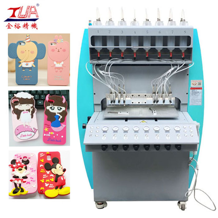 Automatic Silicone Mobile Cover / Case Dispensing making Machine
