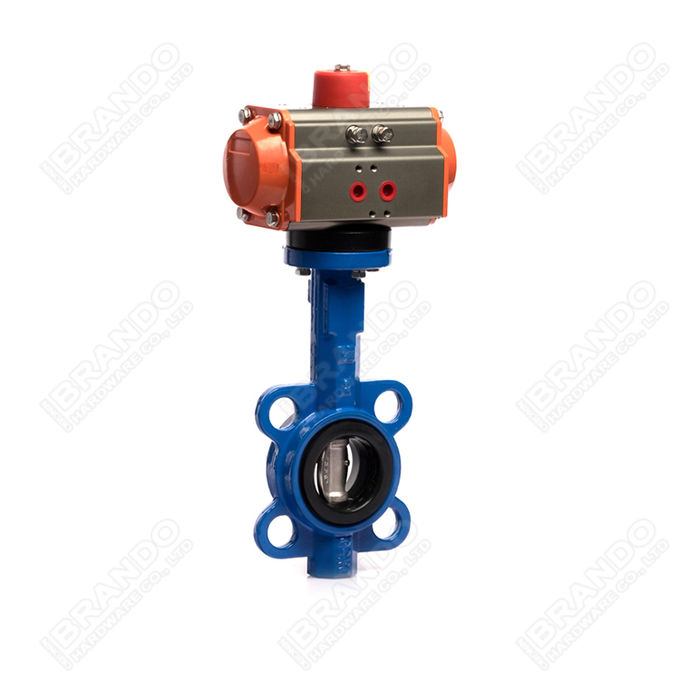 Sanitary Stainless Steel Tri Clamp Ball Valve With Pneumatic Actuator 11