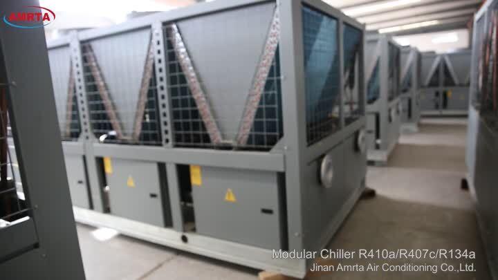 Air cooled modular chiller
