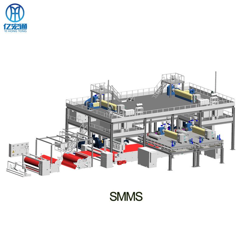 Pp Smms Nonwovens Fabric Machine