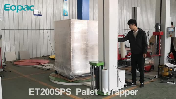 ET200SPS pallet wrapping machine.mp4