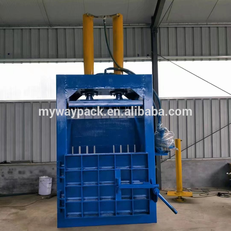 Vertical Plastic Baling Machine