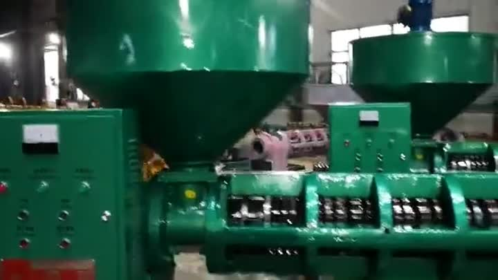 Cina Profesional Sekrup Tekan Expeller Minyak Yzyx168 Sunflower Seed Oil Press - China Oil Press, Vacuum Filtration Oil Press.mp4