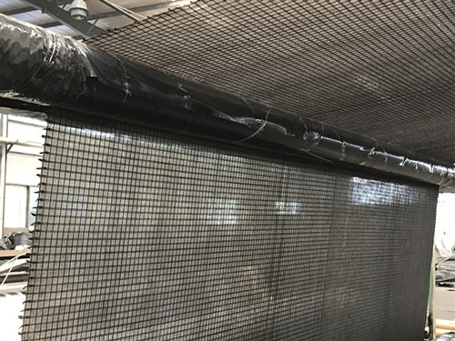 Fiberglass Geogrid Stitched with Nonwoven Fabric