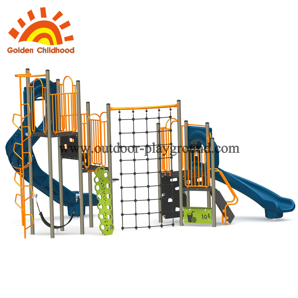 outdoor play equipment plastic type
