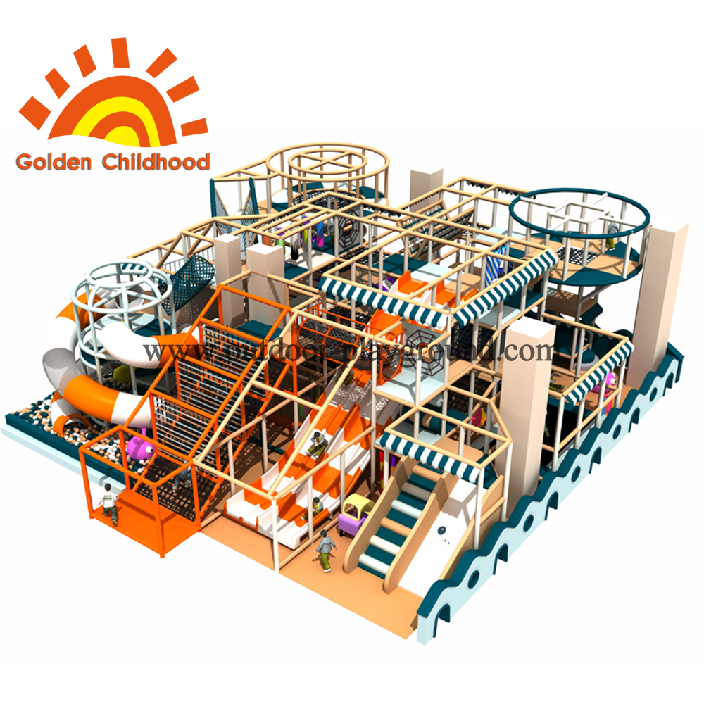 New Design Large Indoor Playground Equipment For Sale