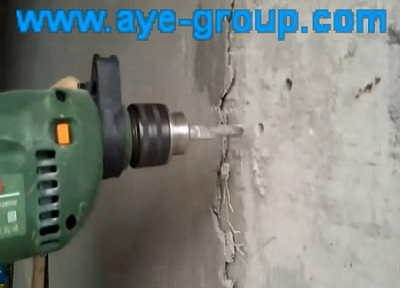 Working Vedio of Multi-function Electric Hand Drill of Luban Tools
