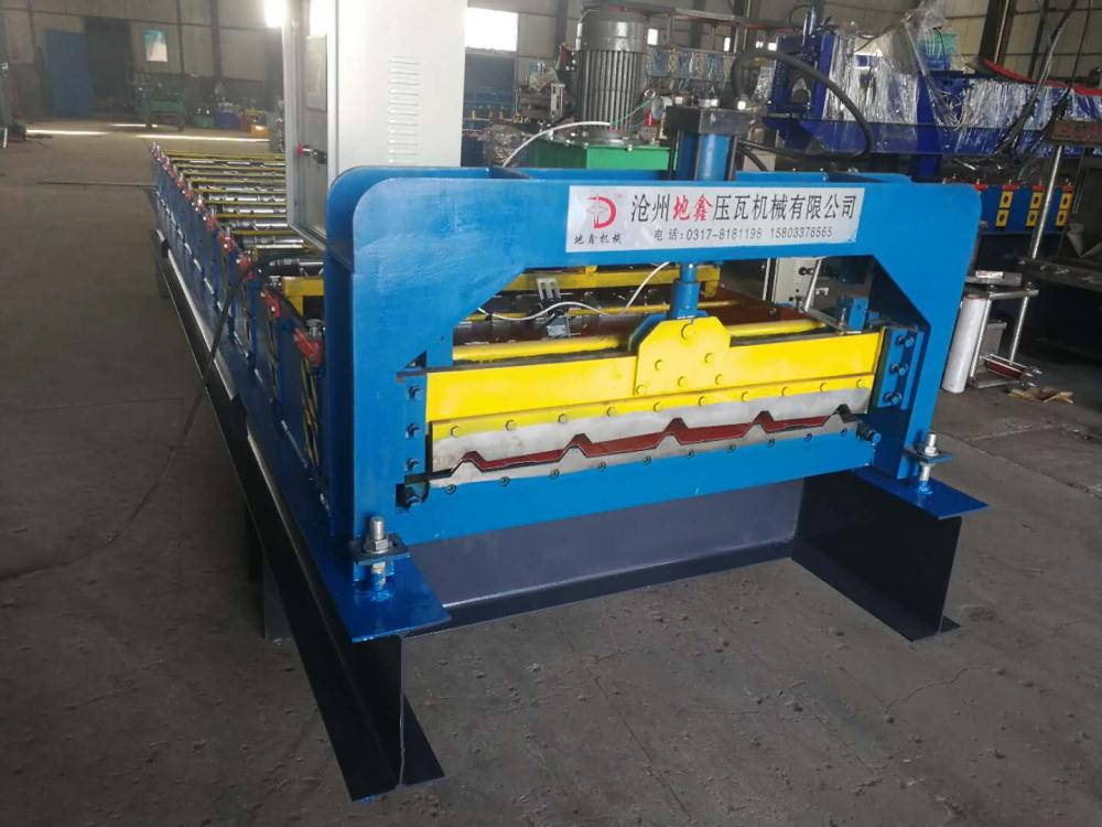 color steel roof machinery
